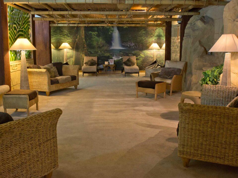 Aztec Spa, Torquay, relaxation area