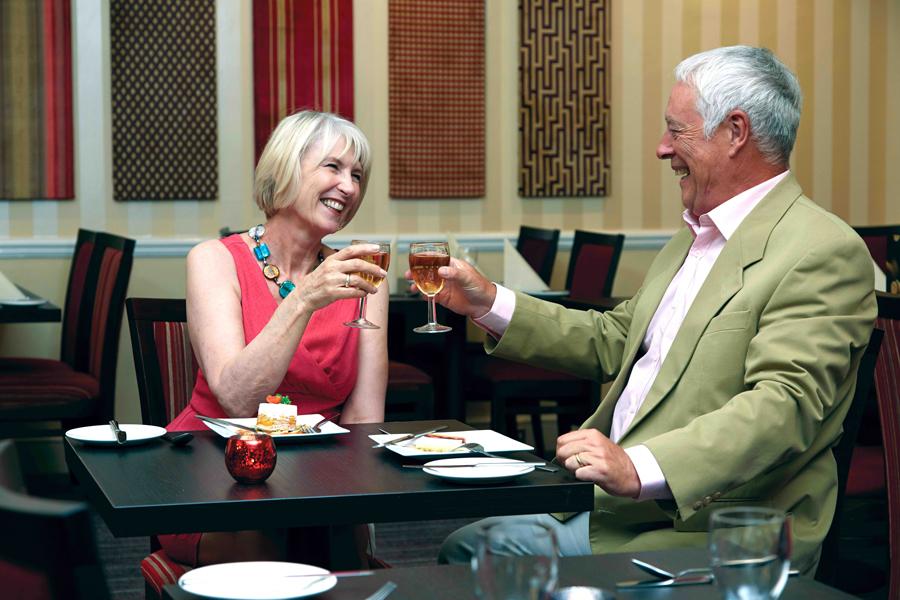 TLH Toorak Hotel Restaurant Mature Couple
