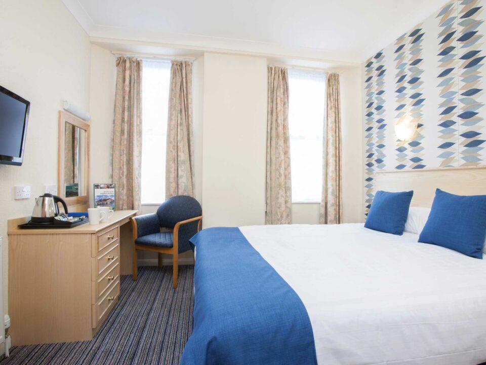 TLH Derwent Hotel Double Bedroom