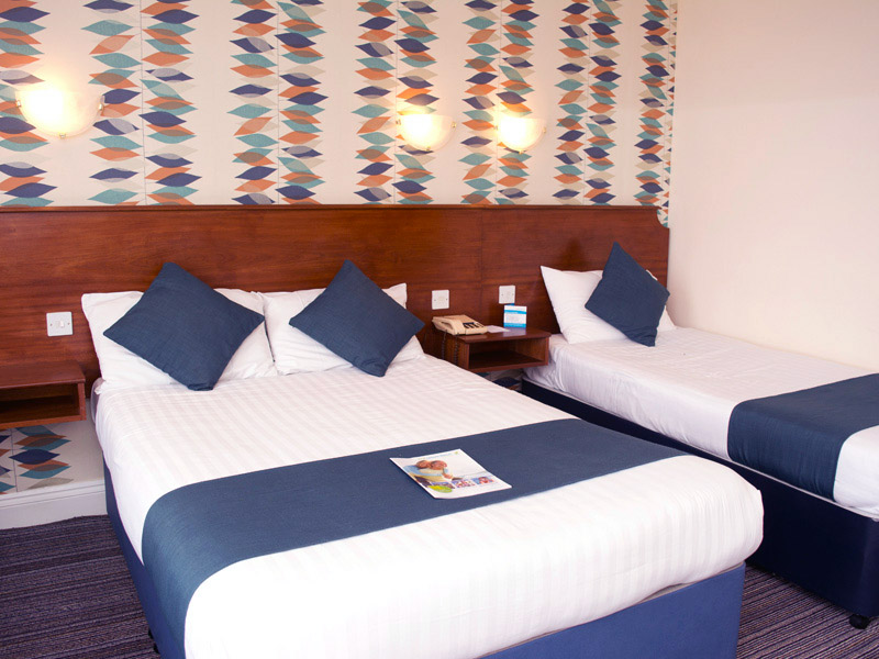 TLH Victoria Hotel, Torquay, Family Room for 3 People