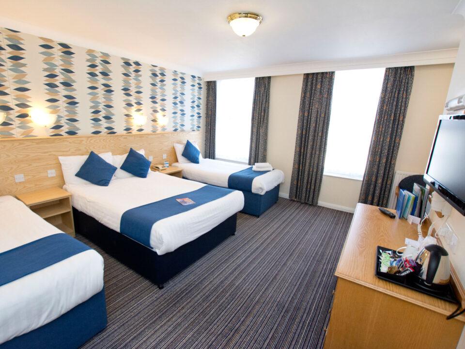 TLH Derwent Hotel Family Bedroom for 4