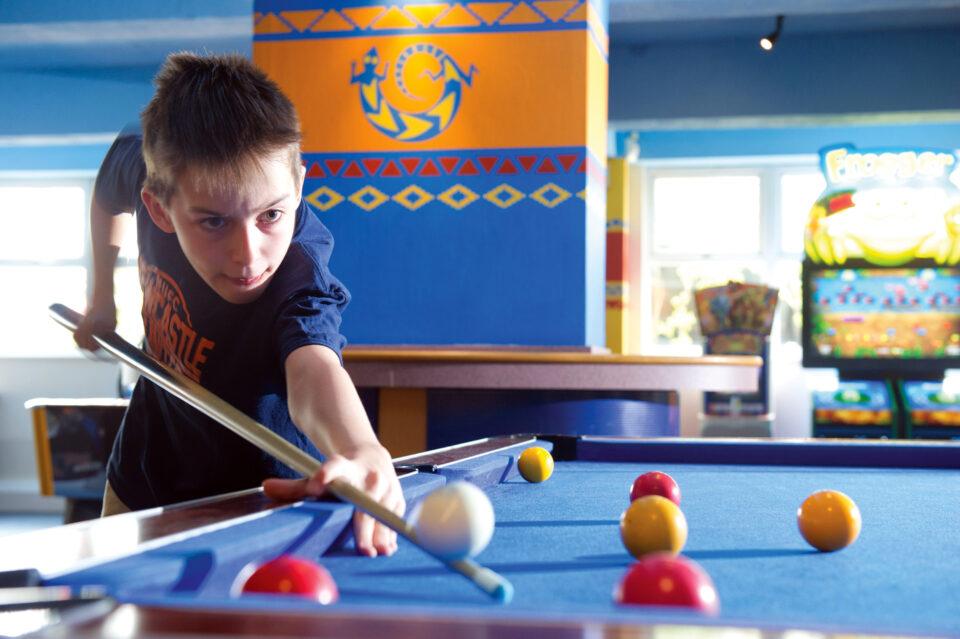 Aztec Games, Torquay, Pool Tables