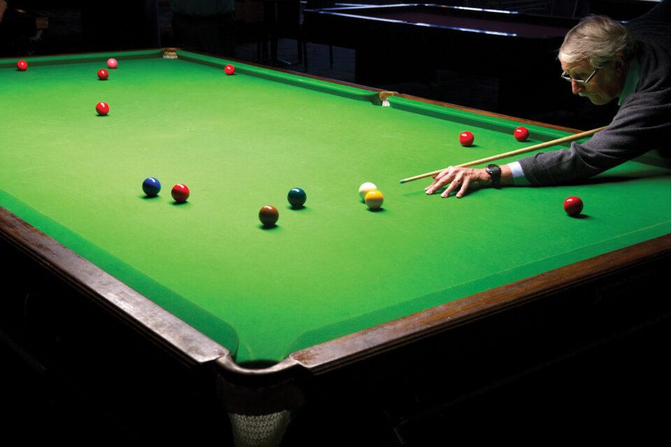 Aztec Games, Torquay, Snooker