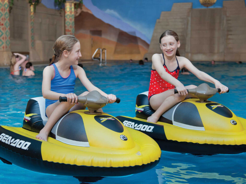 Aqua Skis Kids Parties, TLH Leisure Resort, Torquay