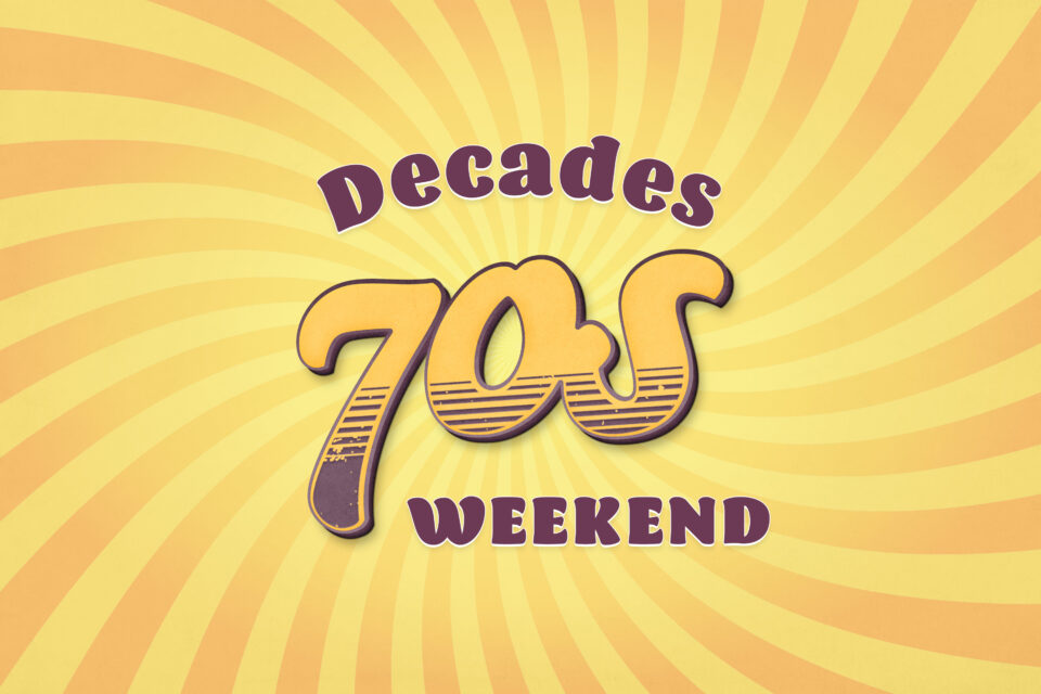 Decades 70s weekend in Torquay