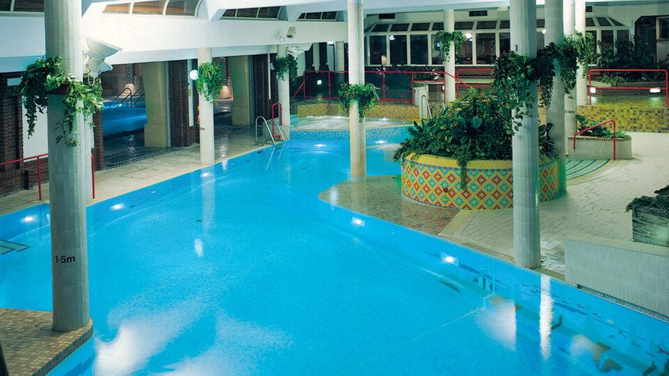 TLH Leisure Resort, Torquay, Indoor Family Swimming Pool