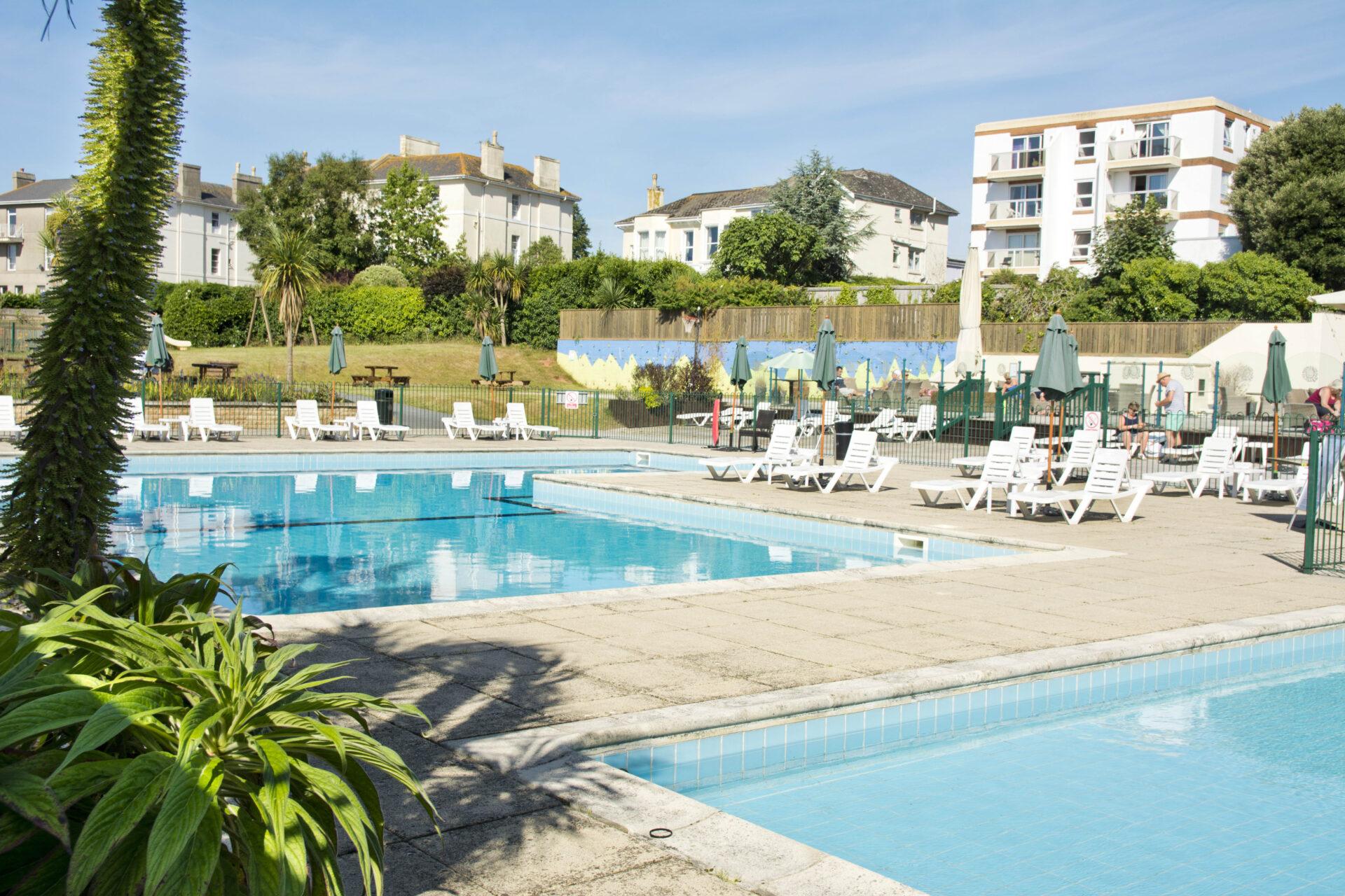 TLH Leisure Resort, Torquay, Outdoor Swimming Pools