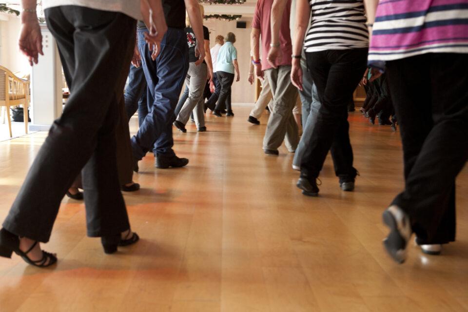 Linedancing, TLH Leisure Resort, Torquay