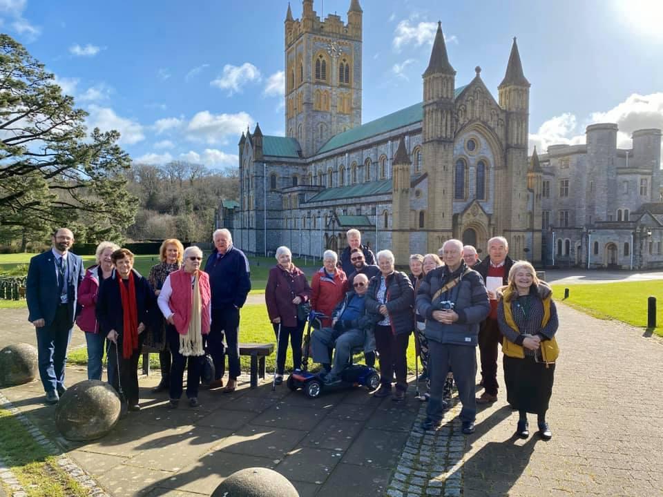 Group at Buckfast Abbey