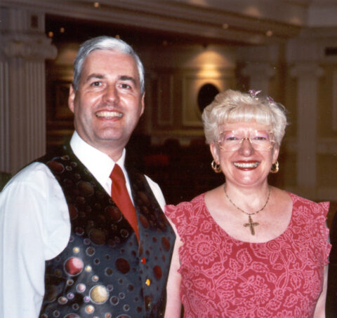 Gary and Tricia Fleetwood, Dancing Hosts, TLH Leisure Resort, Torquay