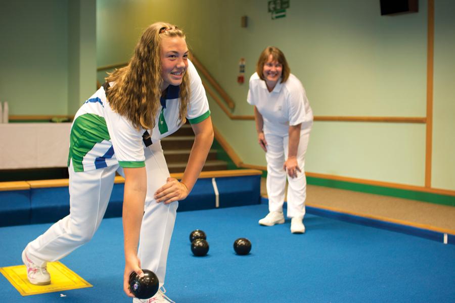 TLH Leisure Resort, Torquay, Indoor Bowls