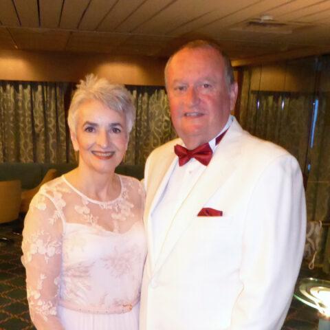 Larraine and Ken Hine, Dance Hosts