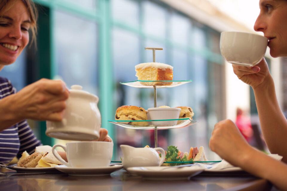 Cream tea, afternoon tea in Torquay