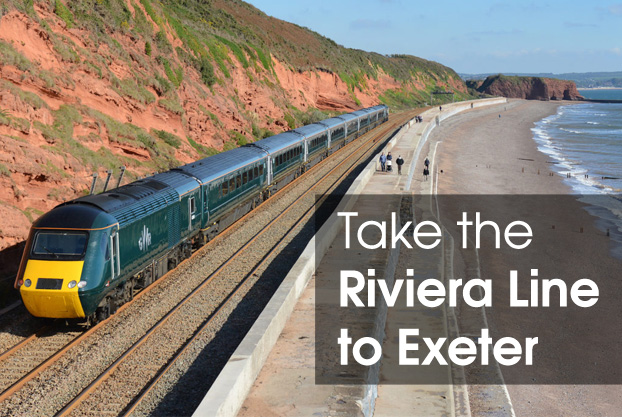 Train from Torquay to Exeter