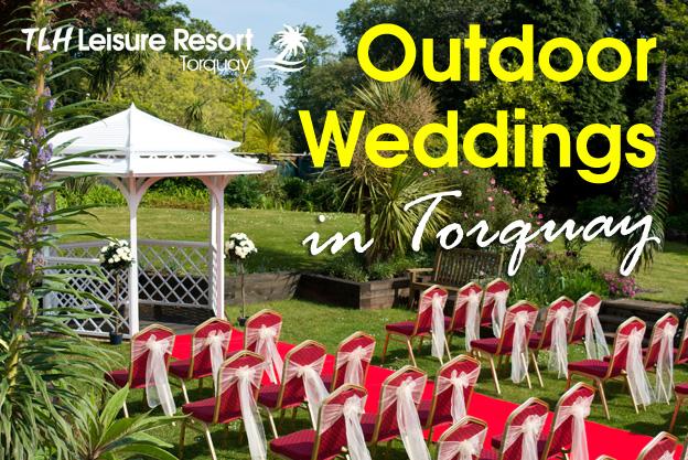 Outdoor wedding Torquay