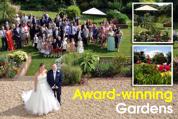 award-winning gardens torquay