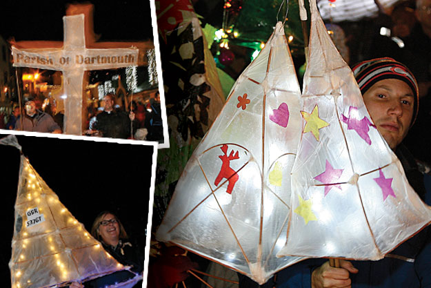 Lovely lanterns at last year's Candlelit Dartmouth - Images courtesy of MiraclePR