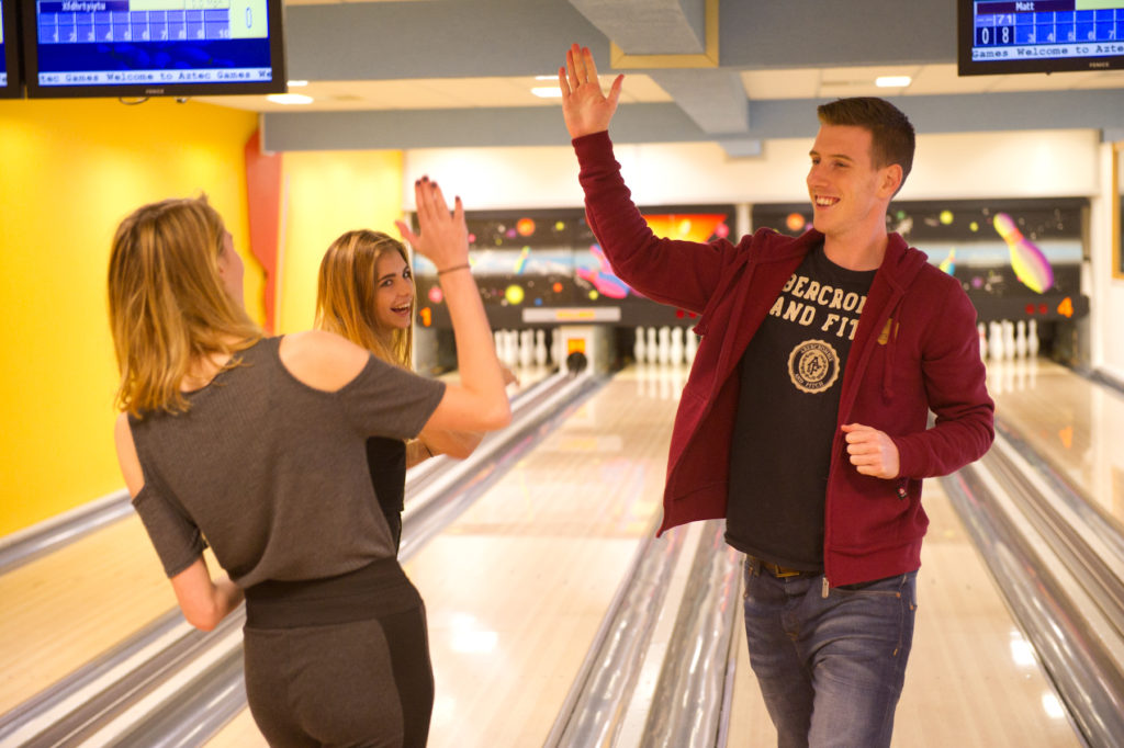 Aztec Games 10 pin bowling