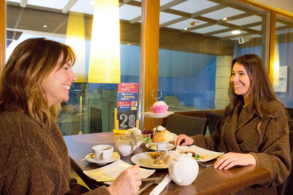 cream tea in Bistro