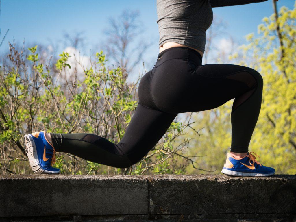 Exercising bottom or gluteus maximus
